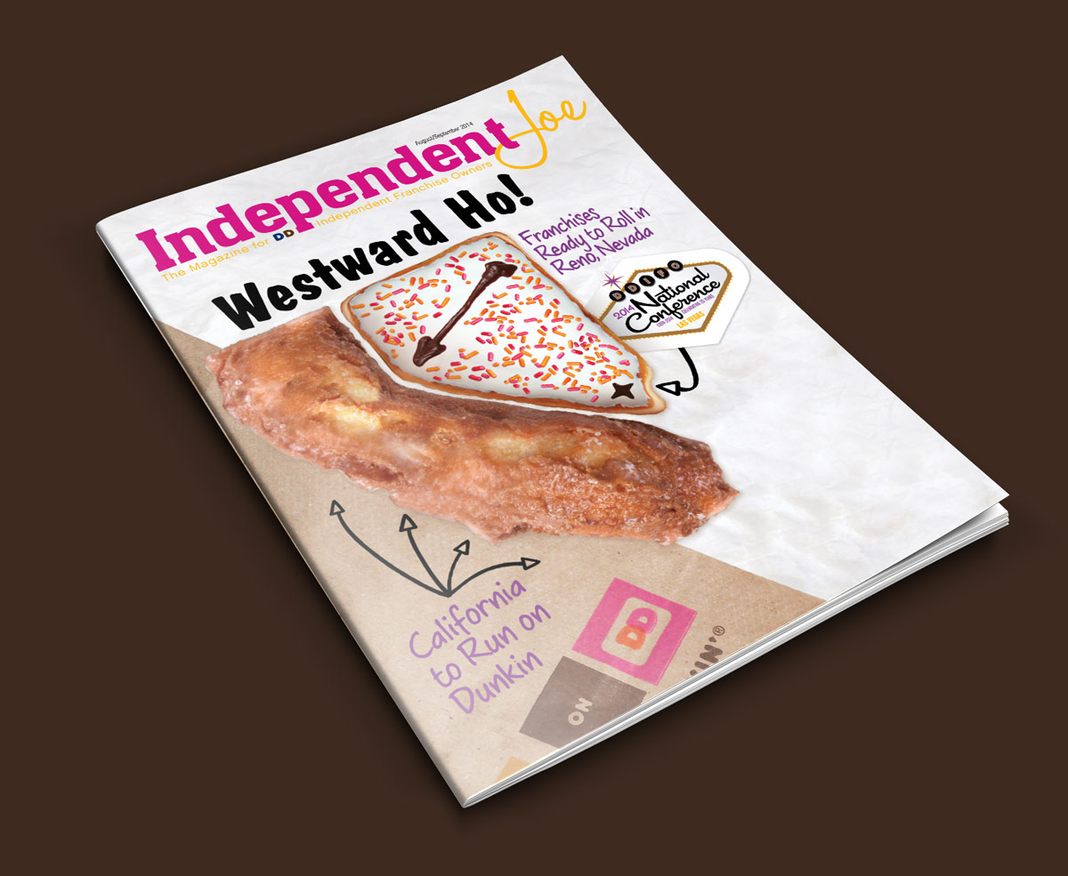 Folio Magazine Award Winning Dunkin Donuts Independent Franchise Owners Magazine Independent Joe