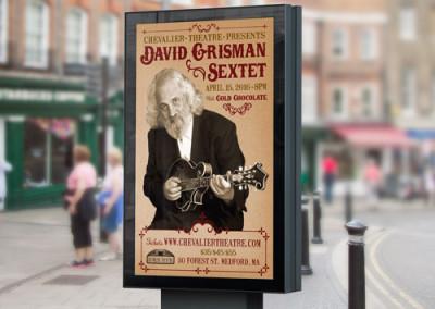 David Grisman Sextet Poster