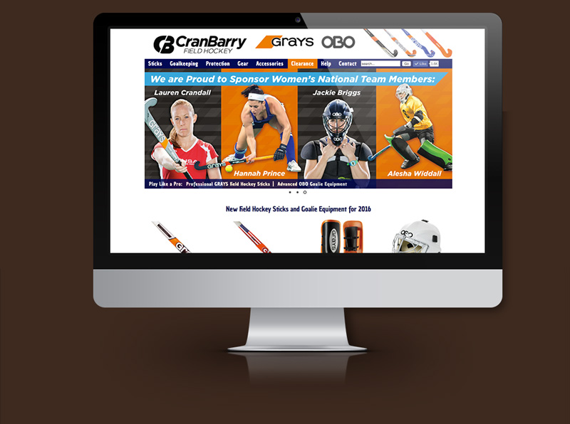 E-Commerce Website for National Field Hockey Company