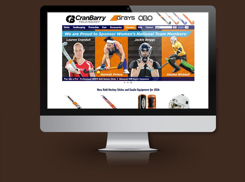 E-Commerce Website for National Field Hockey Company